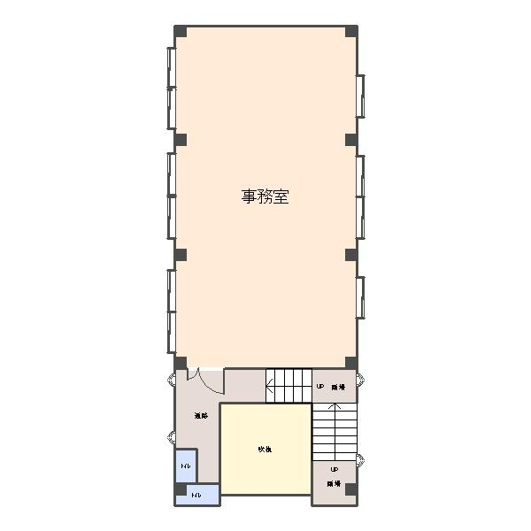 小野塚ビジネスセンター第2ビル、2F間取
